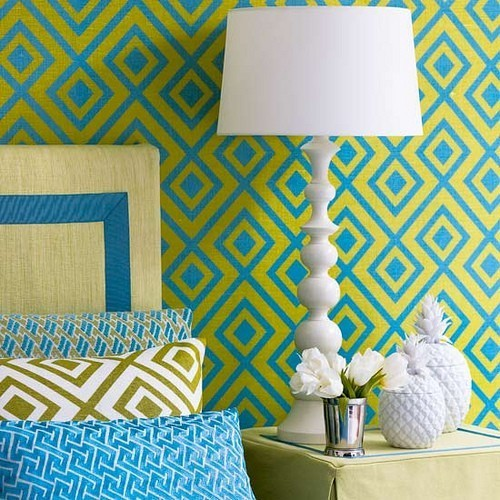 Using Fabric To Cover Walls : Flashy ways to use fabric on kids room walls kidspace