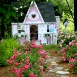 Creating Beautiful Playhouse Gardens