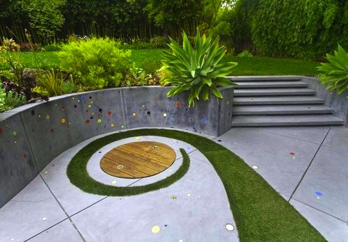 Backyard Sandpit : Kids Backyard Sandbox Fun  KidSpace Interiors