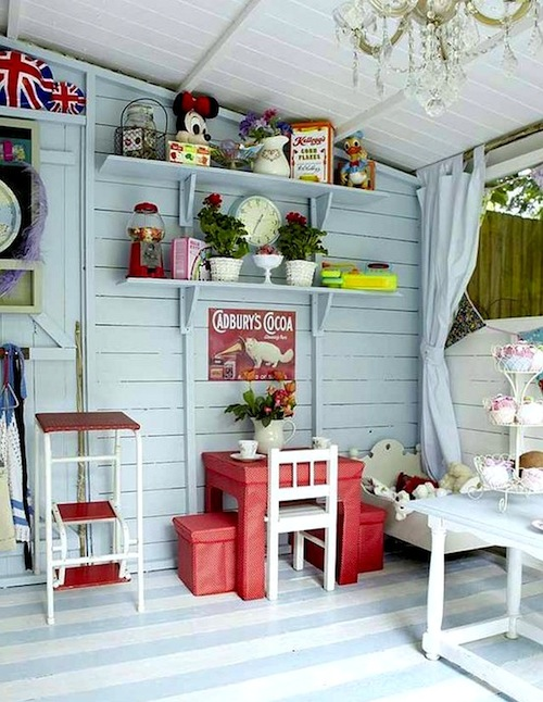 Using Vintage Furniture In Playhouses