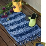 More Recycling Ideas for Kids' Blue Jeans {Area Rugs}