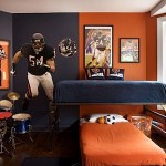 Teen Room Sports Collection Display Ideas