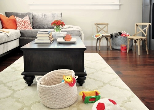 ... , and room to play on an easy care floor make this room kid-friendly