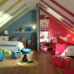 Using Color to Divide Kids' Rooms