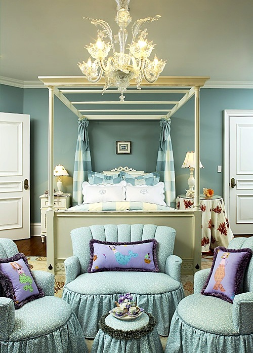 girls bedroom ideas with canopy bed