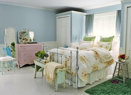 Vintage Pastel Bedroom Ideas Home Design
