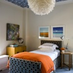 Kids' Room Ceiling Fabric Ideas