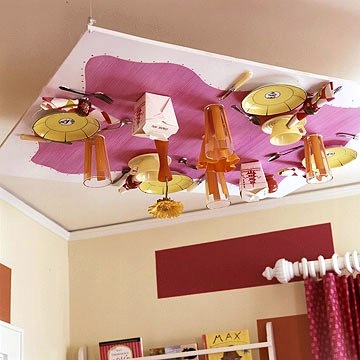 Unique Kids' Room Ceiling Attachments by Jeanette Simpson in Nauvoo IL