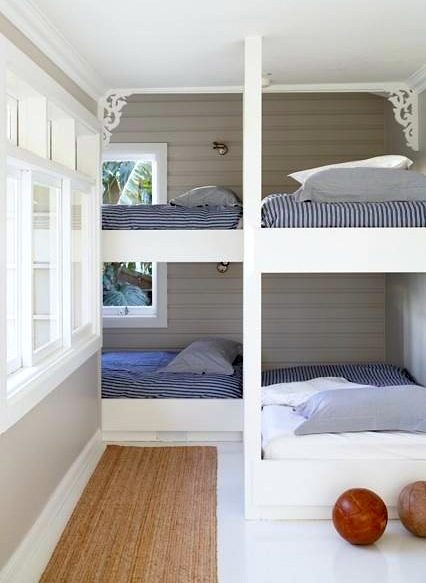 Small Space Bunk Rooms by Jeanette Simpson in Nauvoo IL