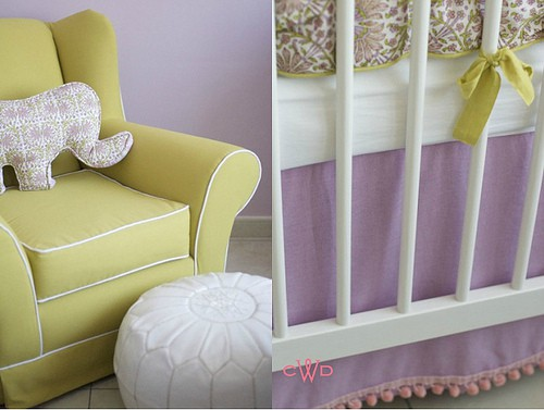 vintage moxie colors for baby nursery