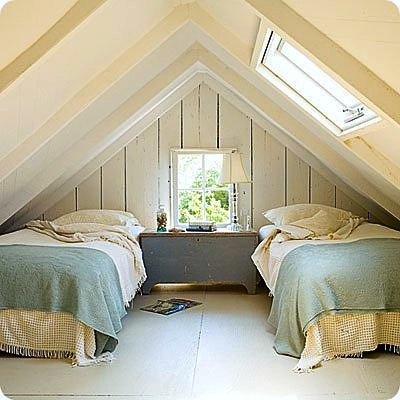 attic room for teens