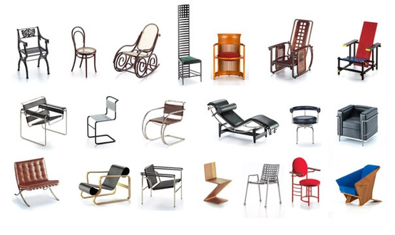 miniature vitra chairs 1