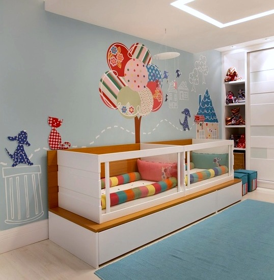 acrylic panels in baby crib