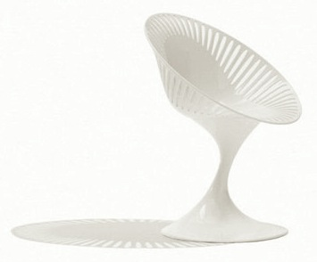 orb white plastic chair for teen room desk