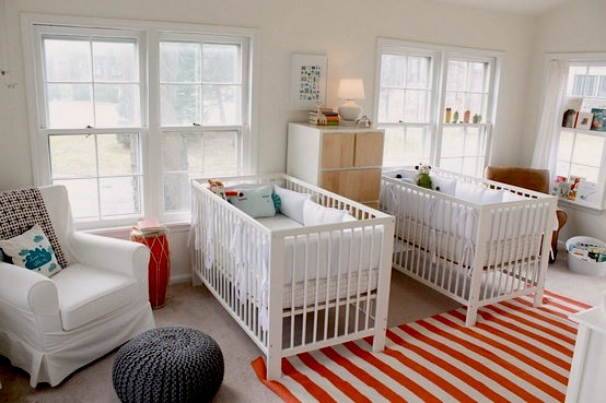 Baby Nursery Decor: Room for Twins by Jeanette Simpson in Nauvoo IL
