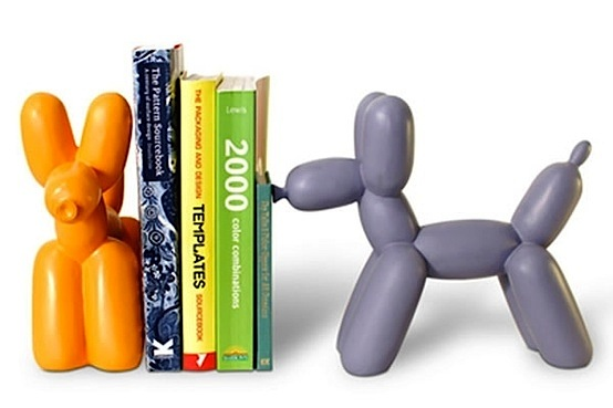 Resin Balloon Dogs Bookends