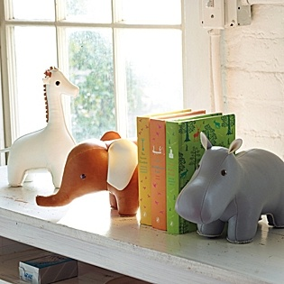 Menagerie Bookends For Baby Nursery