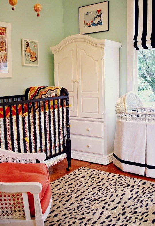 Leopard Area Rug For Baby Nursery Floor