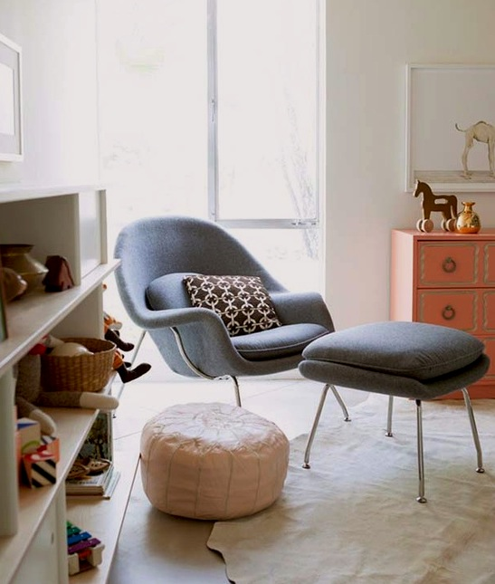 Clic Womb Chair In Baby Nursery