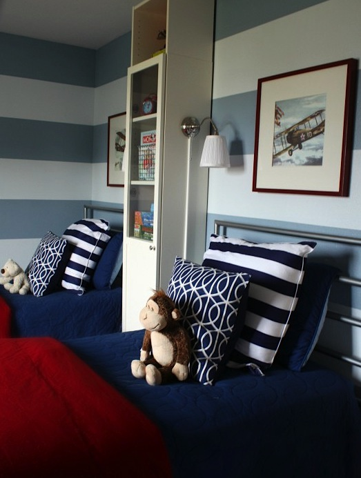 navy blue bedding for boys bedroom