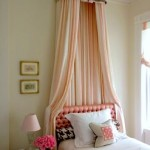 Lovely Girls' Room Bed Crown Canopy