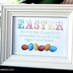 Ideas for Kids' Room Easter Decor Using Eggs