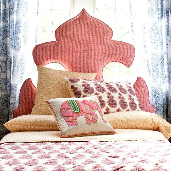 custom upholstered teen headboard