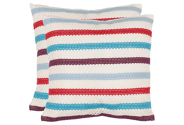 pair of pillows for teen room