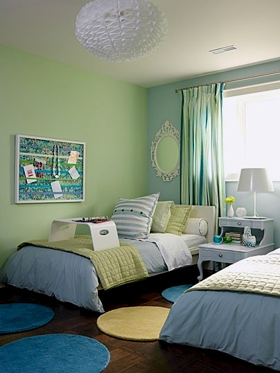 Kids 39 room color schemes green sprout nauvoo il for Colors for a girls room