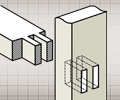 mortise and tenon joint for kids furniture construction
