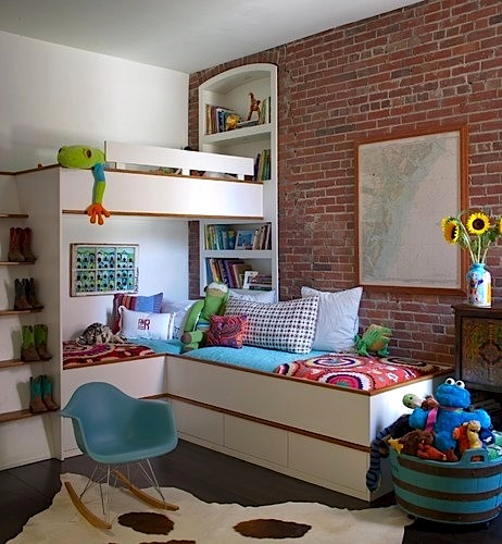 Kids' Bedrooms: Modernizing Old Rooms by Jeanette Simpson in Nauvoo IL