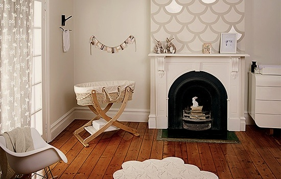 modernize old building for baby nursery
