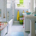 Kids' Bathrooms: Old Walls, New Fixtures and Accessories