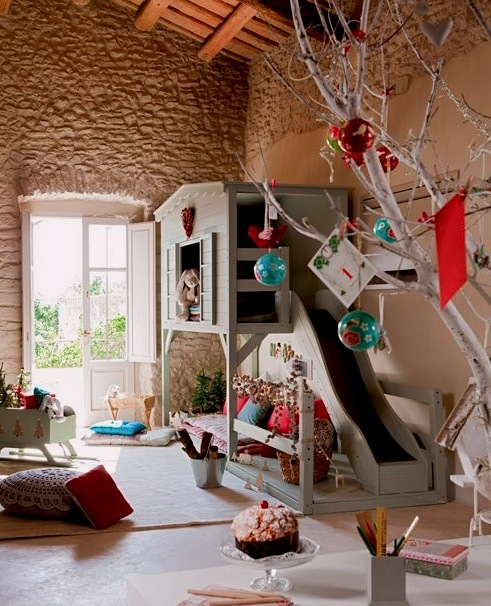 modernize old room for kids playroom