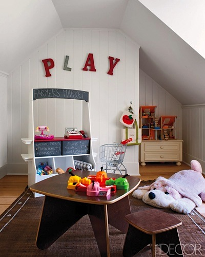 modernize old rooms for kids playroom