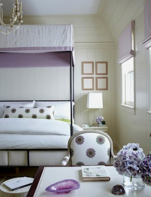 lavender teen girls room