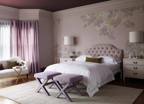 sophisticated lavender teen bedroom