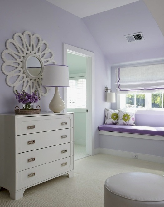 lavender girls bedroom