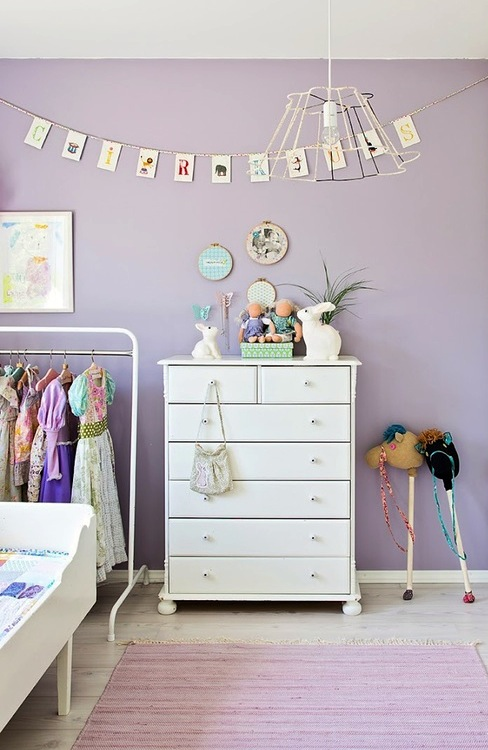 toddler girl lavender bedroom