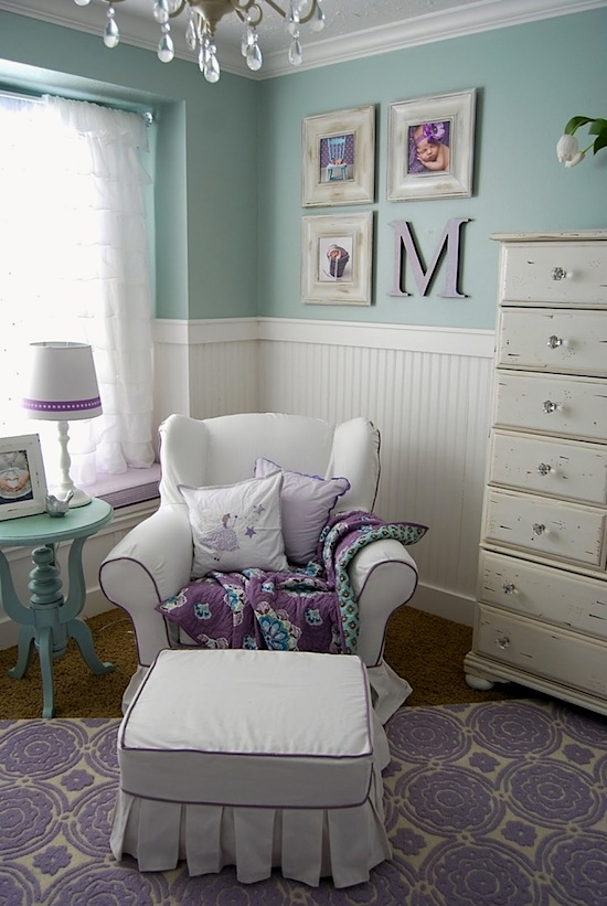 light colors for baby nursery color scheme