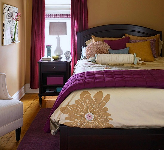 dark color scheme for teen girls bedroom