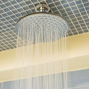 overhead shower nozzle for kids bathroom