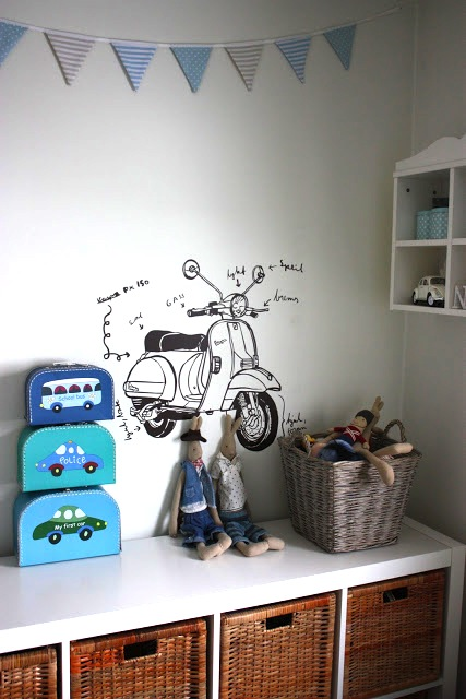 Simple Bedroom Drawing: Drawing Art On Walls