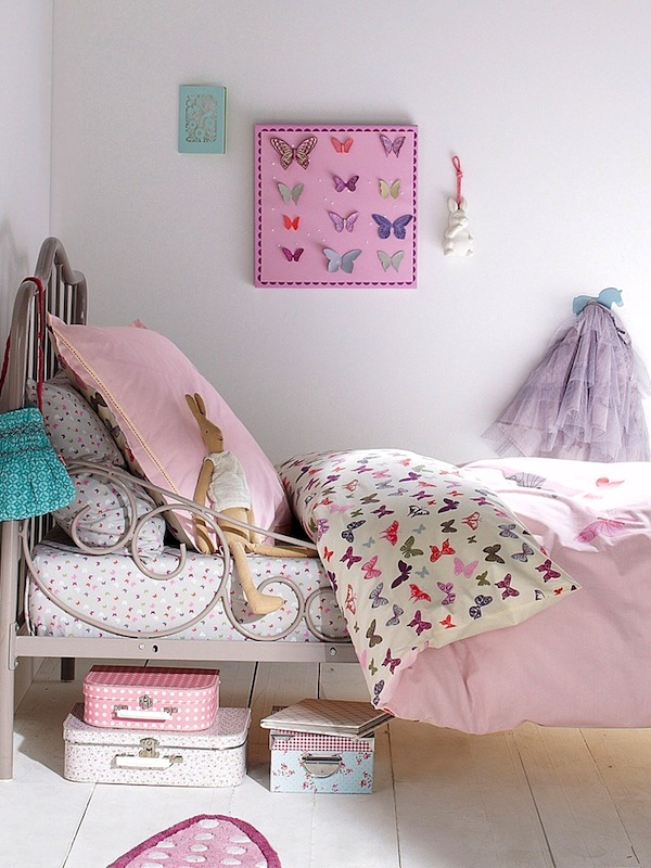 Girls 39 Bedroom Ideas Butterfly Accessories Kidspace Interiors