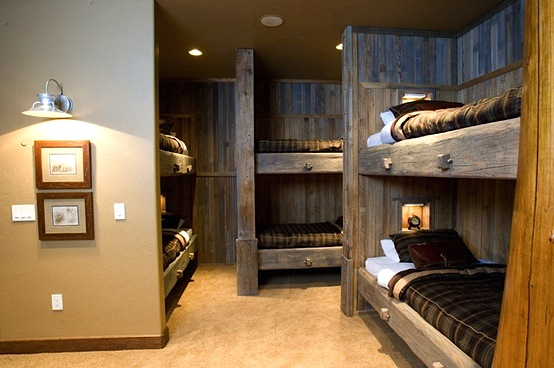 ranch style bunk room for kids