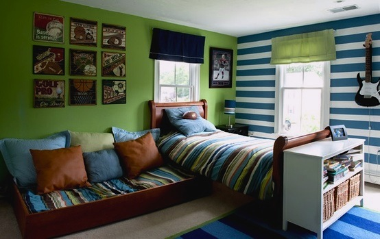Kids' Room Color Schemes | Jolly Green | Kidspace Interiors