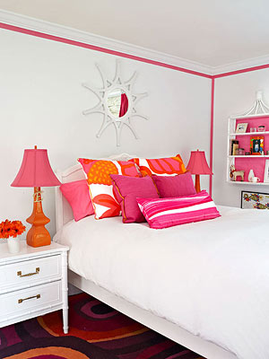 color intensity in tween room accessories