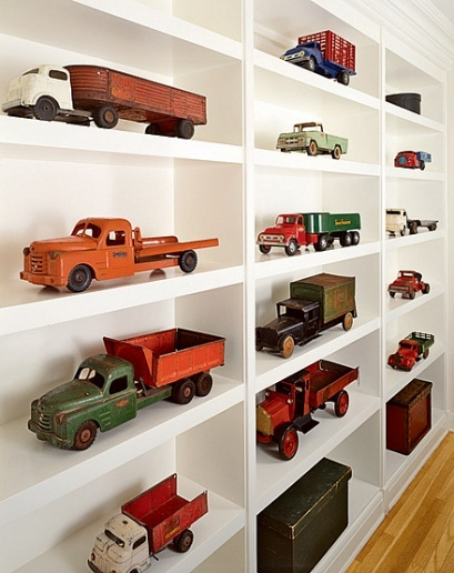 Toy Car Shelves : Kids room collections storage cars kidspace interiors
