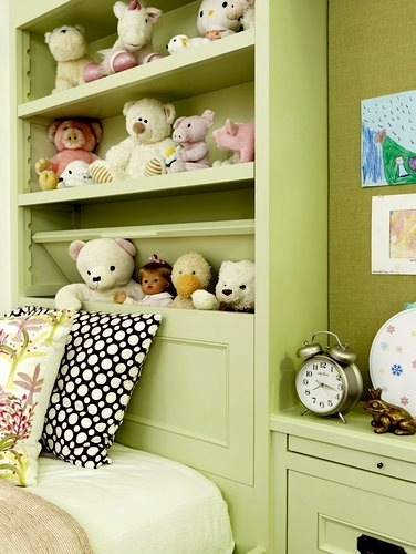 doll and stuffed animal collection storage