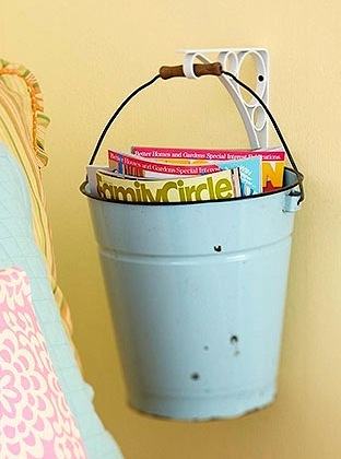 bucket storage for kids books